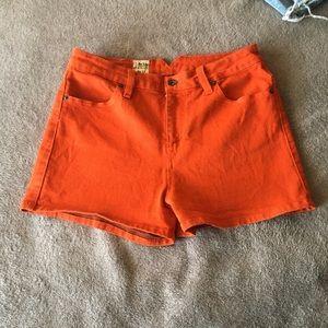 Valcom red/ orange shorts